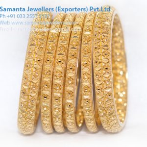 LATEST GOLD BANGLES CHURI DESIGNS
