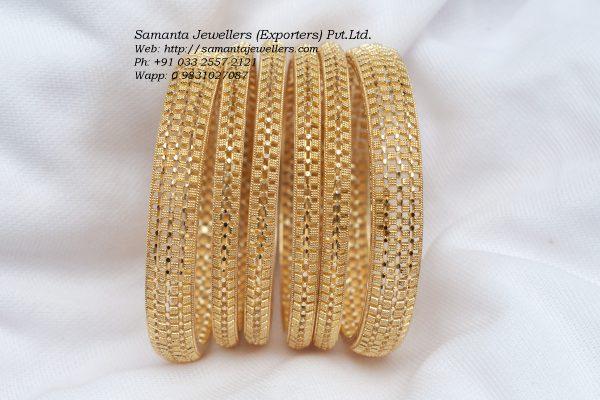 Latest Gold Bangle Churi Designs