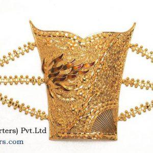 LATEST GOLD MANTASHA DESIGNS,