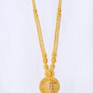 Latest Gold Long Necklace Designs   Gold Haram designs Uset Ranihaar mala set  wedding Necklace, gold jewelry manufacturer exporter kolkata